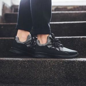 Nike Shoes - Women's Nike City Loop Knit Black Sneakers